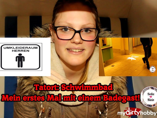 Publicfick im Schwimmbad - Vom Badegast gefickt !