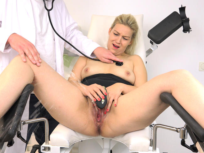 Extremsquirt beim Frauenarzt