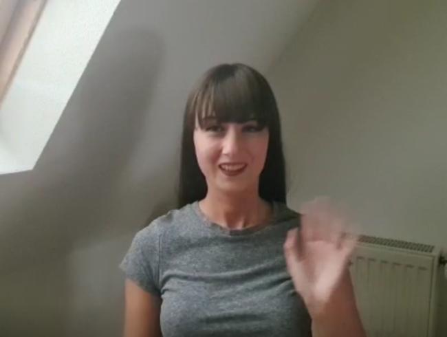 OMG! Ich hab mich getraut! MEIN ERSTES VIDEO GANZ NACKT!!!