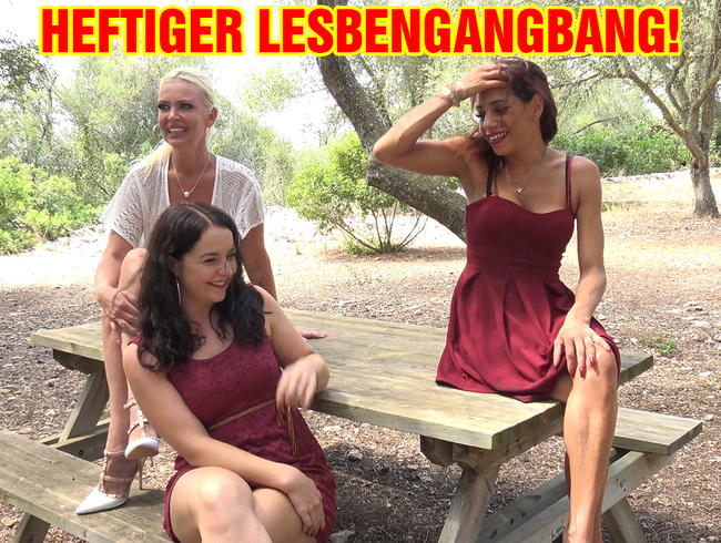 HEFTIGER LESBENGANGBANG!