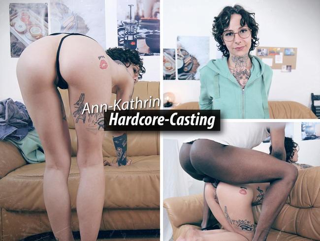 Ann-Kathrin beim Casting