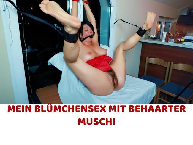 MEIN BLÜMCHENSEX MIT BEHAARTER MUSCHI