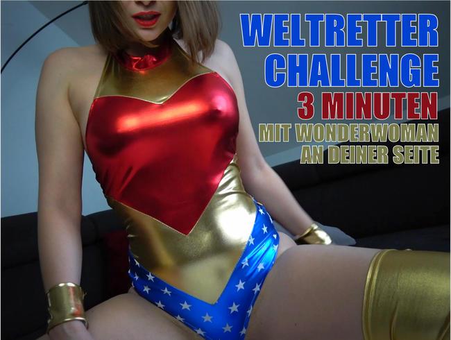 3 Minuten Challenge mit Wonderwoman!