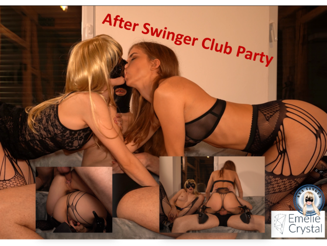 After Swinger Club Party Fuck